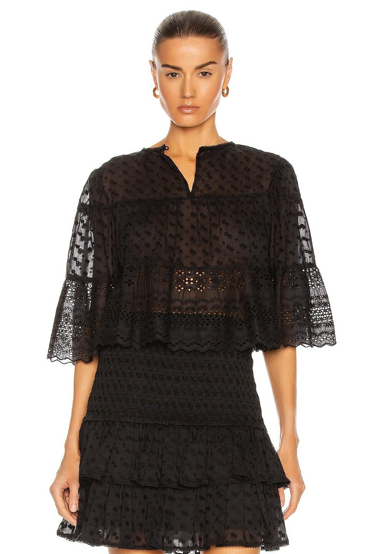 Image 1 of Isabel Marant Etoile Tevika Top in Black
