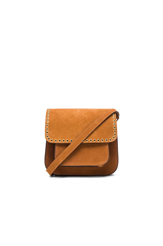 Image 1 of Isabel Marant Etoile Mela Eyelet Bag in Camel