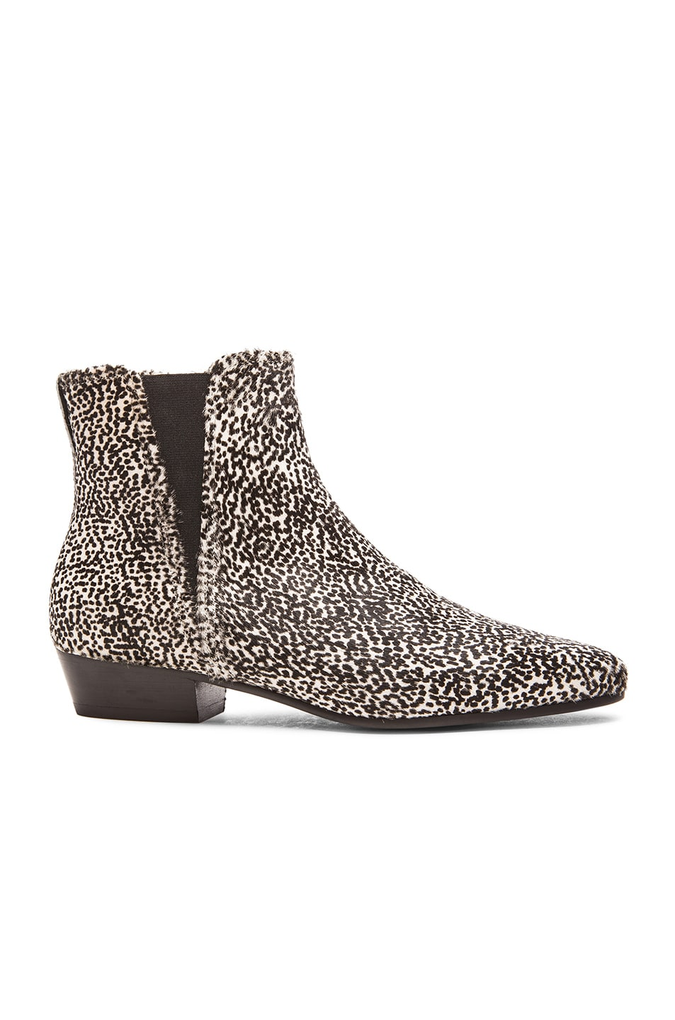 0a89fbe7e153 Image 1 of Isabel Marant Etoile Patsha Pony Hair Boots in Anthracite