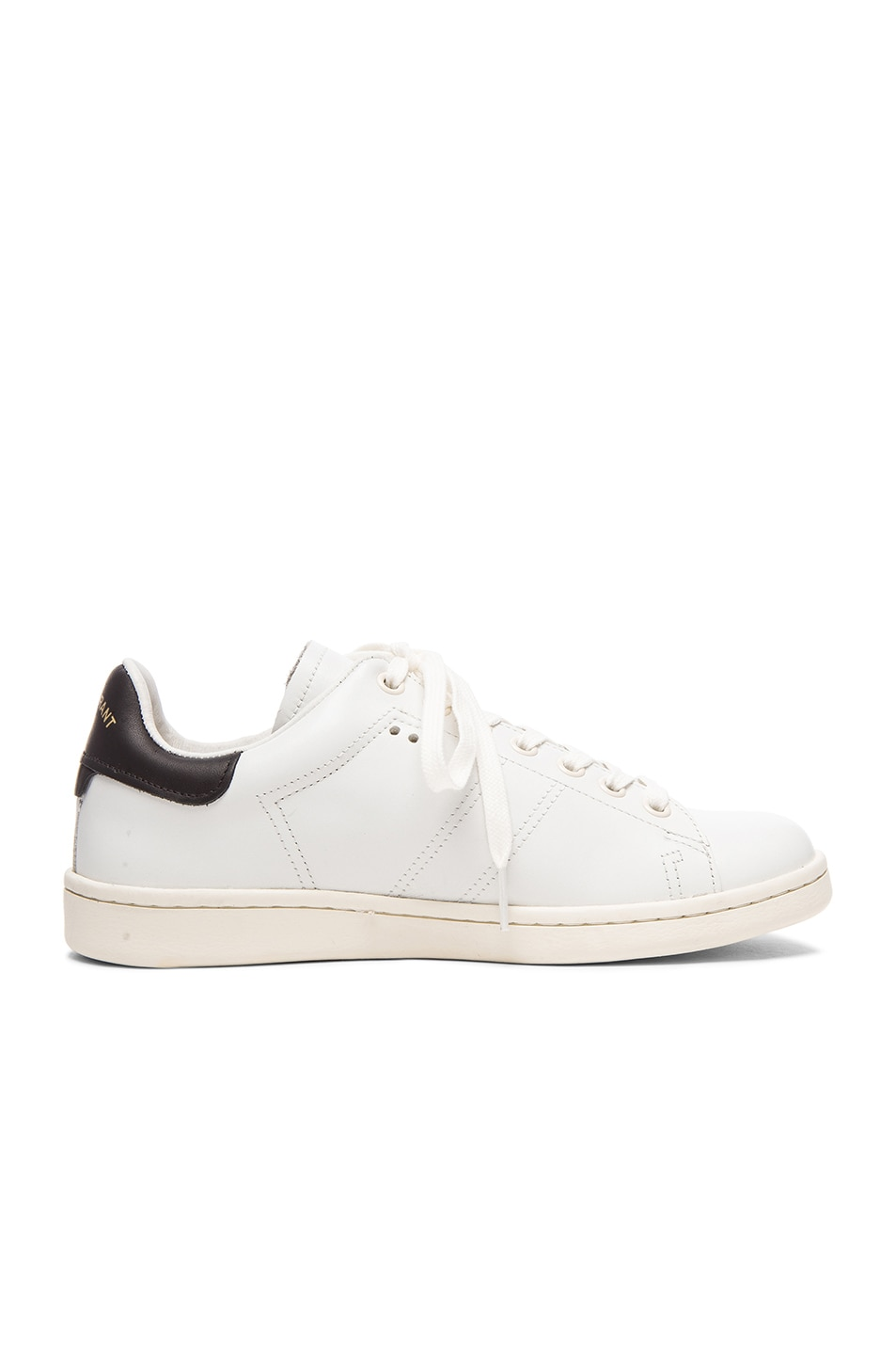 Image 1 of Isabel Marant Etoile Bart Leather Sneakers in White