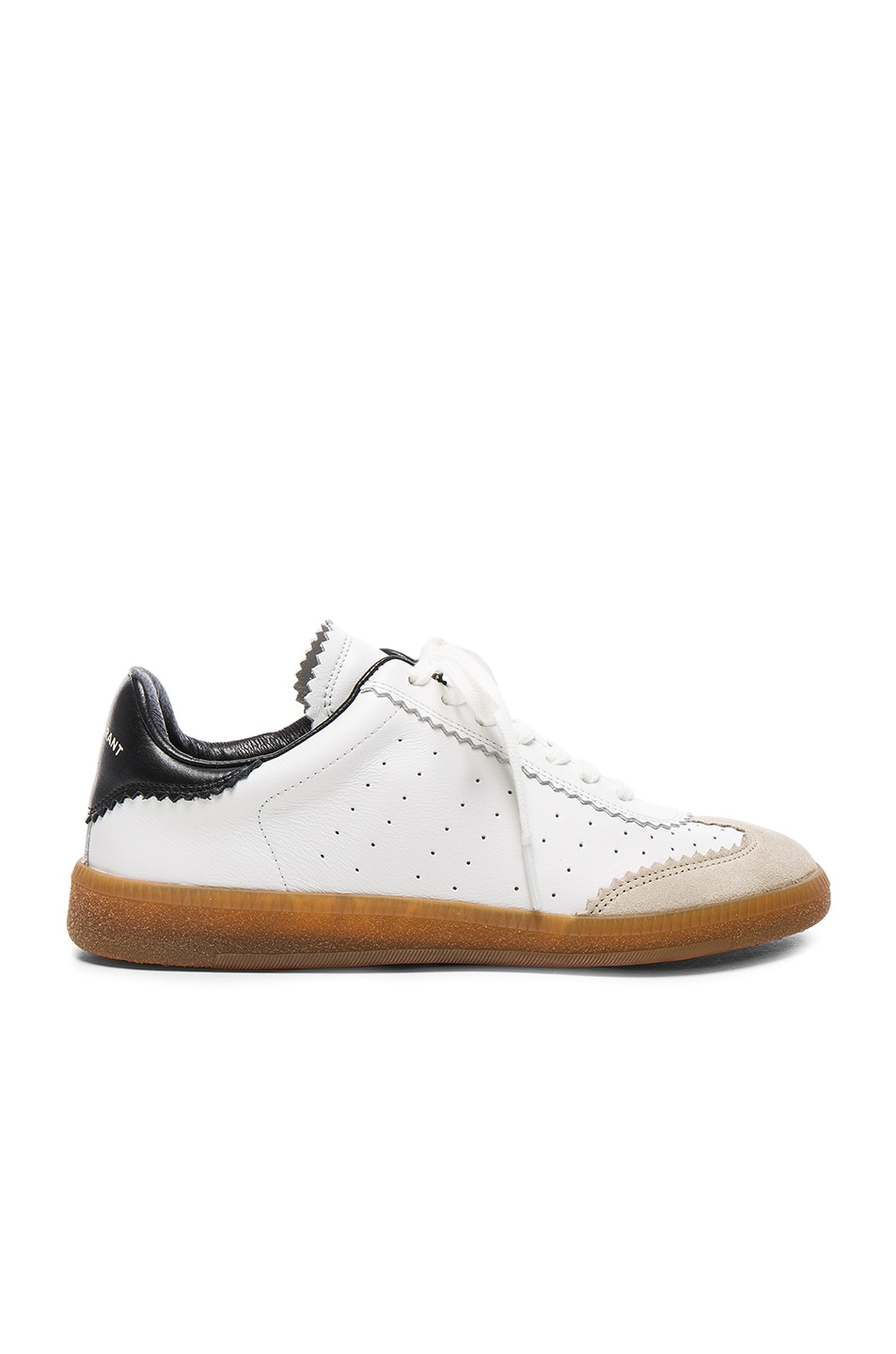Isabel Marant étoile Bryce leather sneakers I2ROLhMX