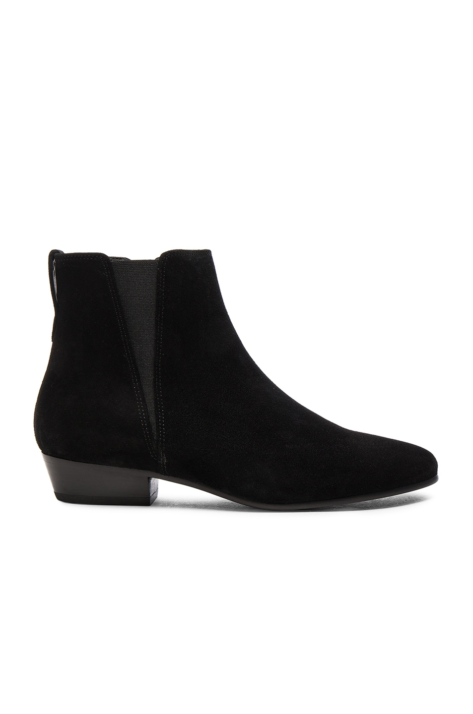 Image 1 of Isabel Marant Etoile Patsha Velvet Booties in Black