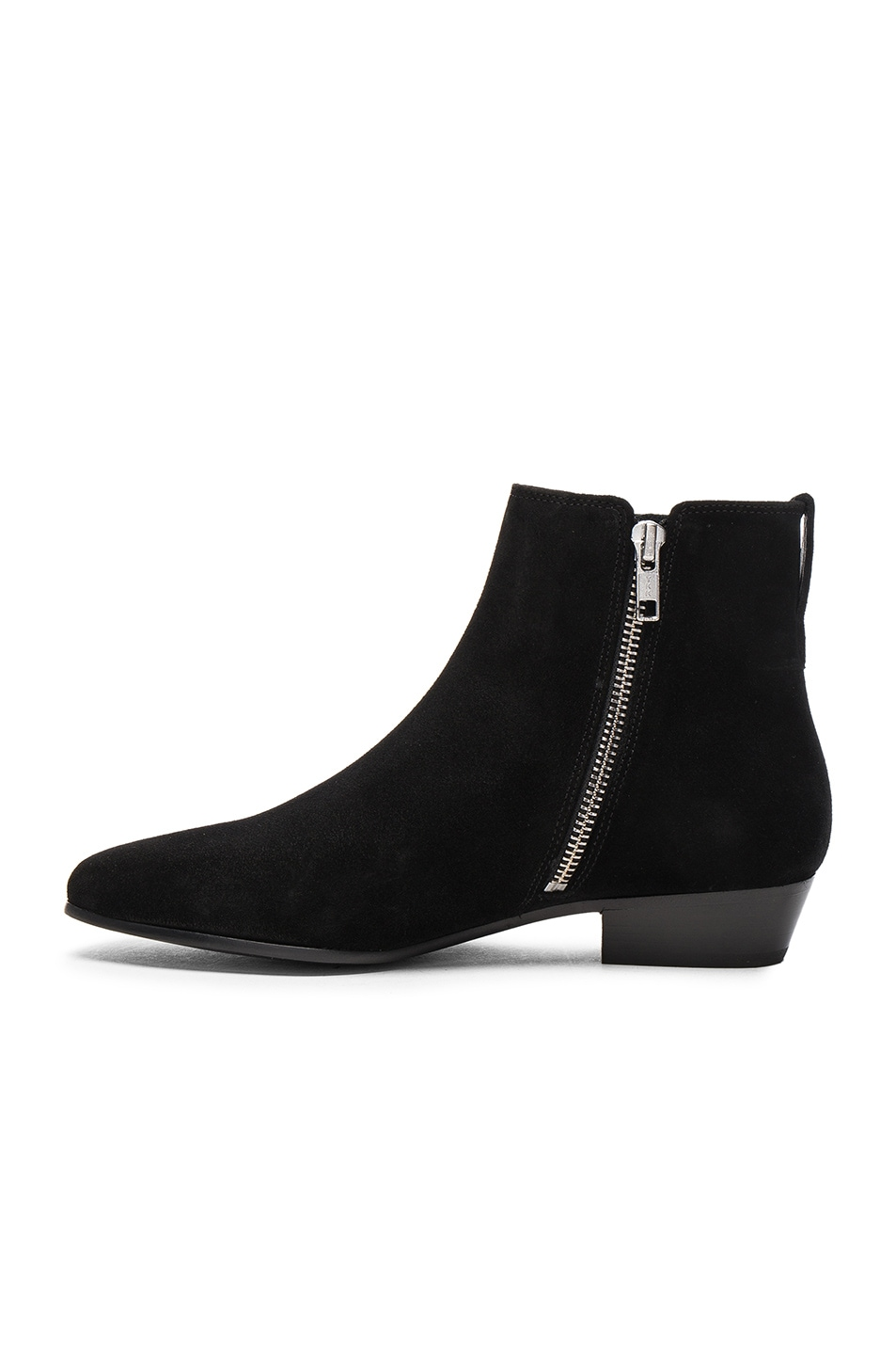 Image 5 of Isabel Marant Etoile Patsha Velvet Booties in Black