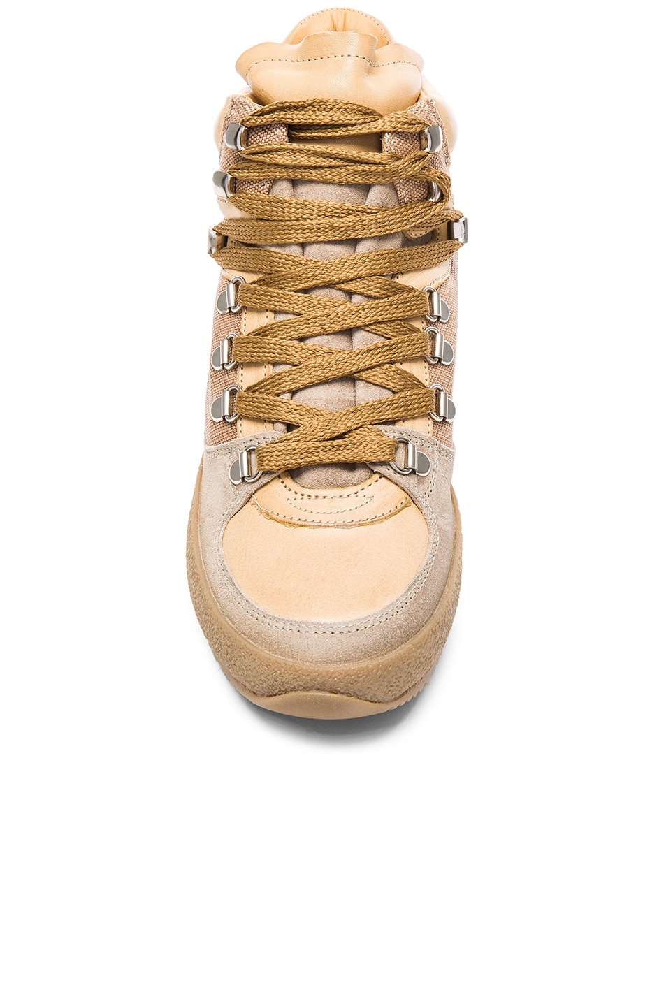 Image 4 of Isabel Marant Etoile Brent Hiking Boots in Beige