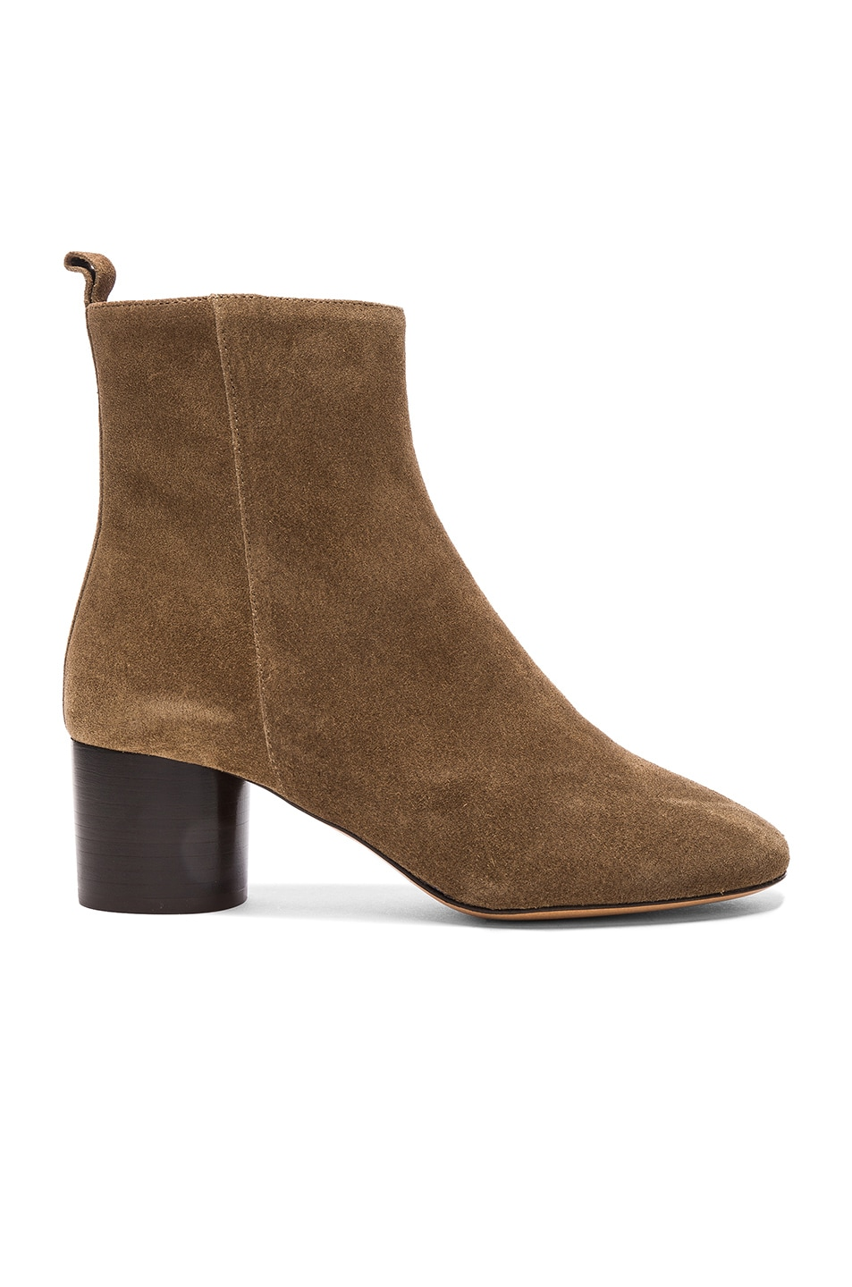 Image 1 of Isabel Marant Etoile Suede Deyissa Summer Velvet Boots in Brown