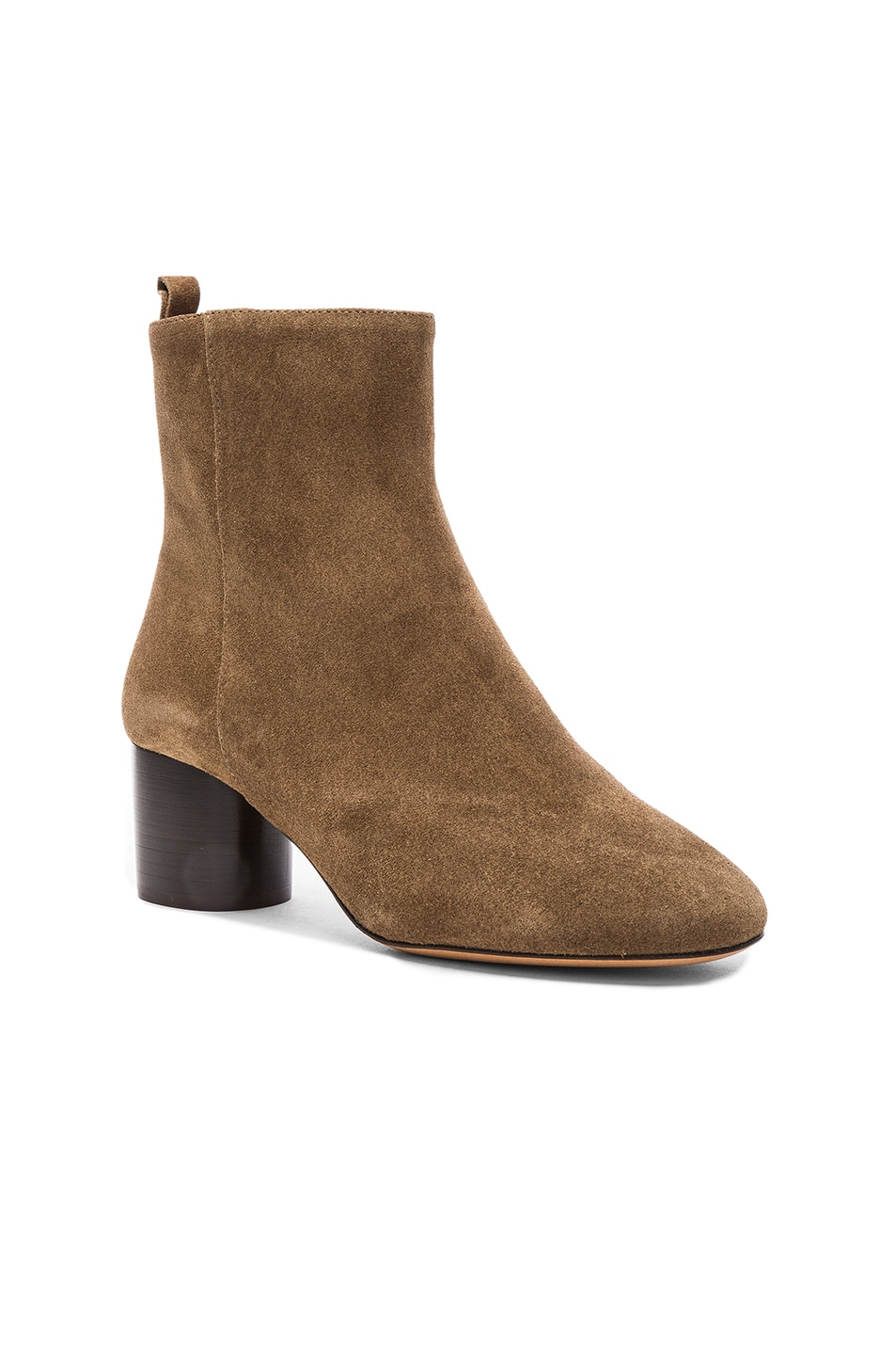 Image 2 of Isabel Marant Etoile Suede Deyissa Summer Velvet Boots in Brown