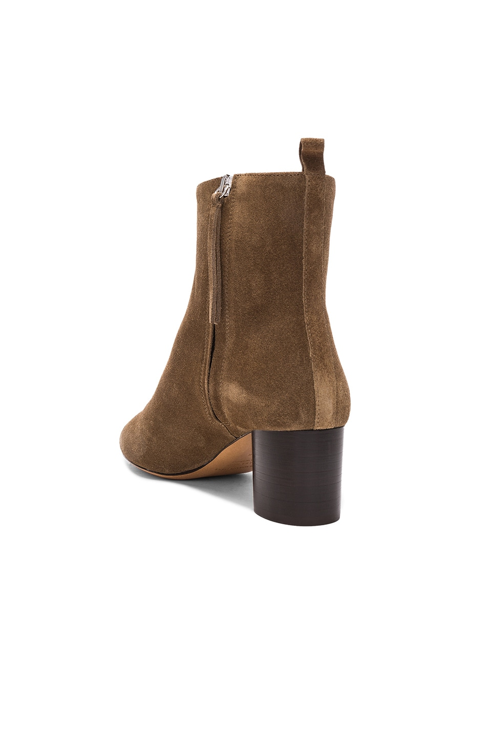 Image 3 of Isabel Marant Etoile Suede Deyissa Summer Velvet Boots in Brown