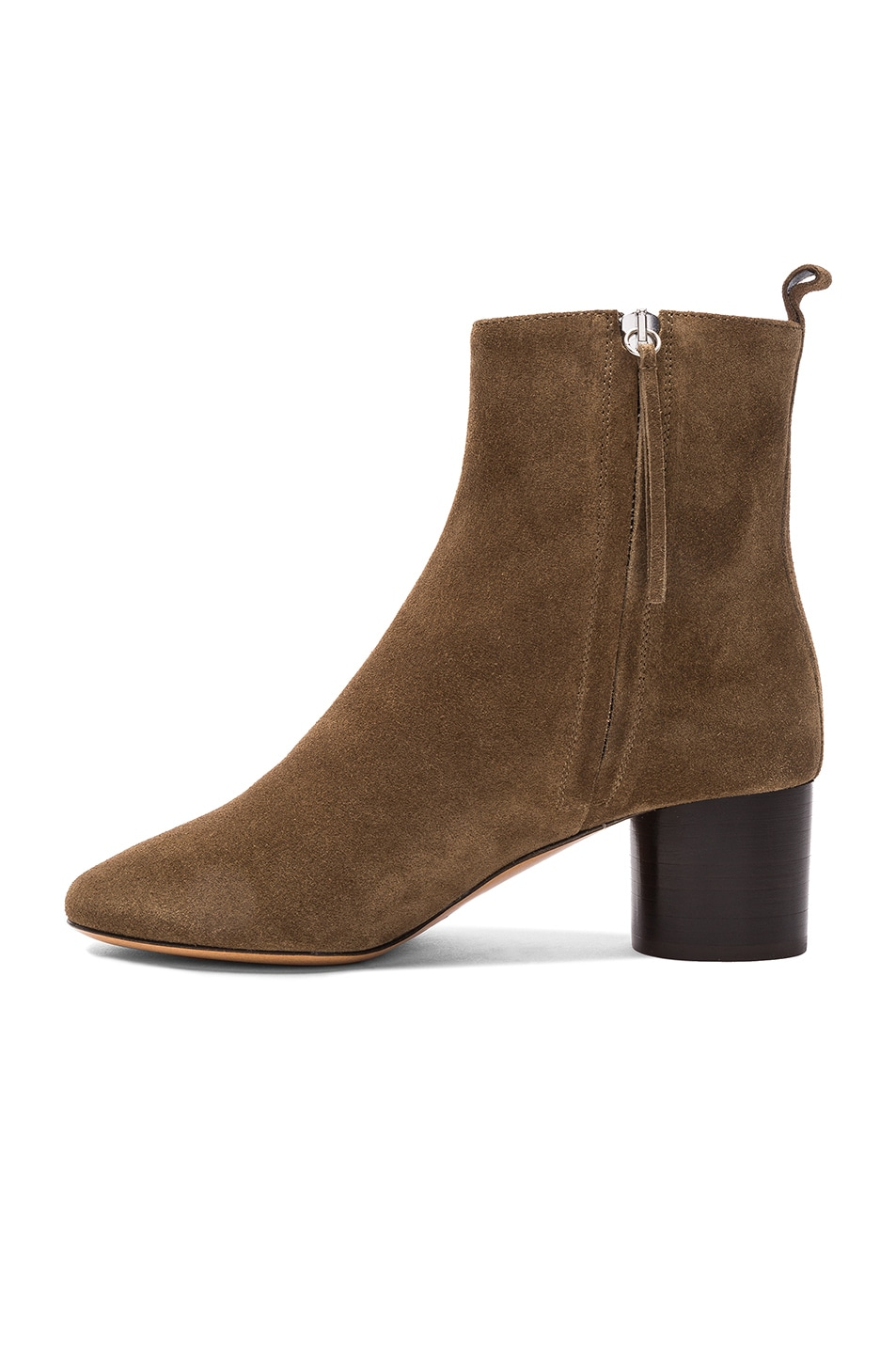 Image 5 of Isabel Marant Etoile Suede Deyissa Summer Velvet Boots in Brown