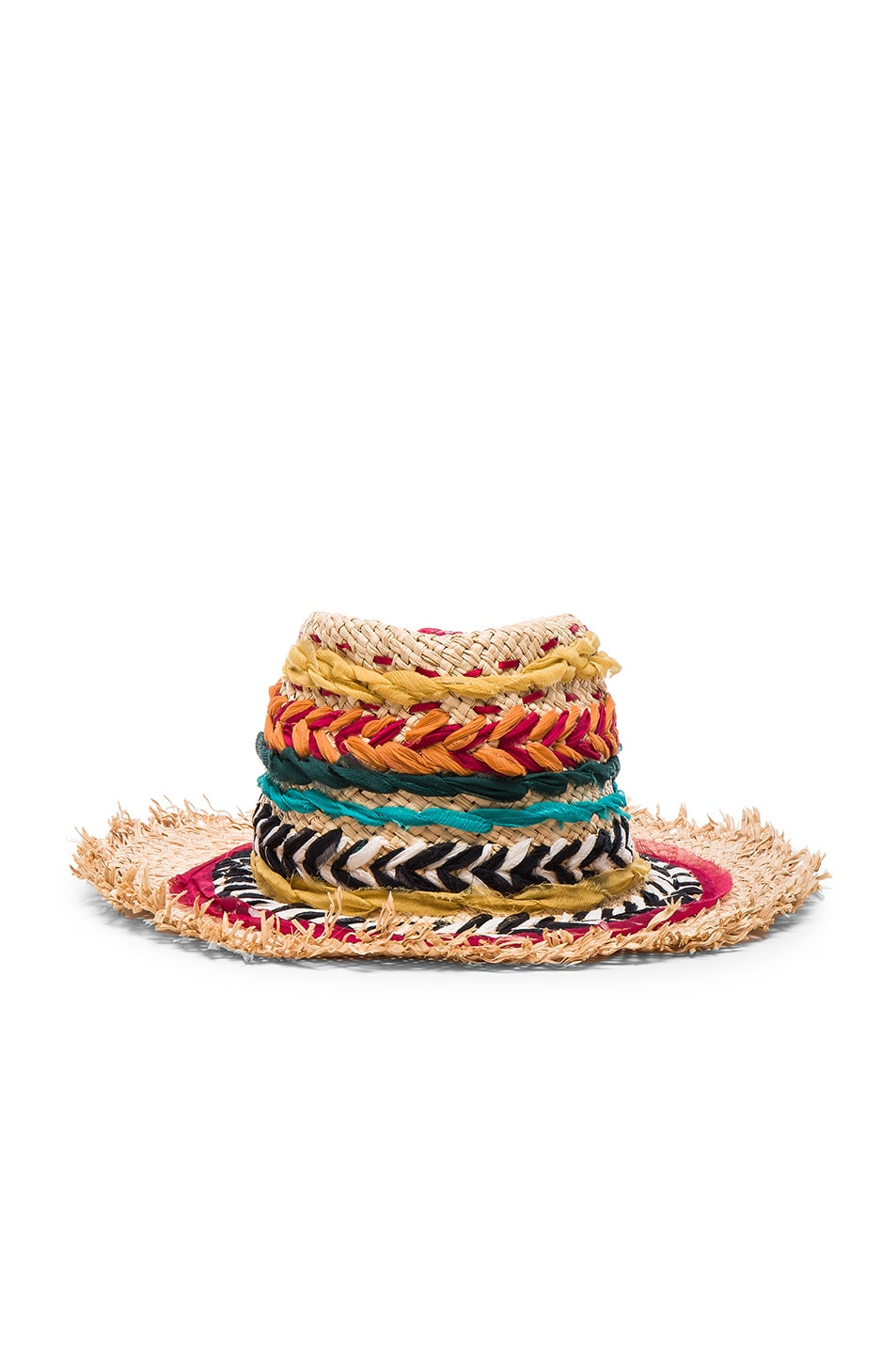Image 1 of Etro Woven Hat in Multi
