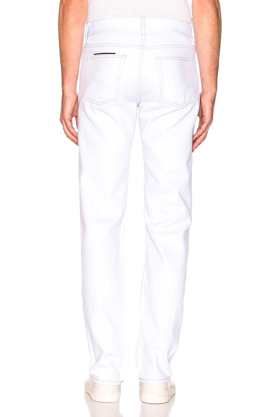 Image 3 of Eytys Cypress Twill Pant in White