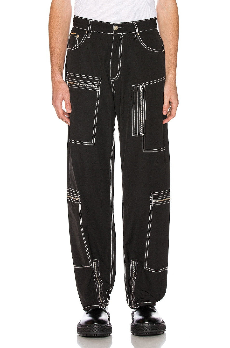 Image 1 of Eytys Benz MK Tech Pant in Black