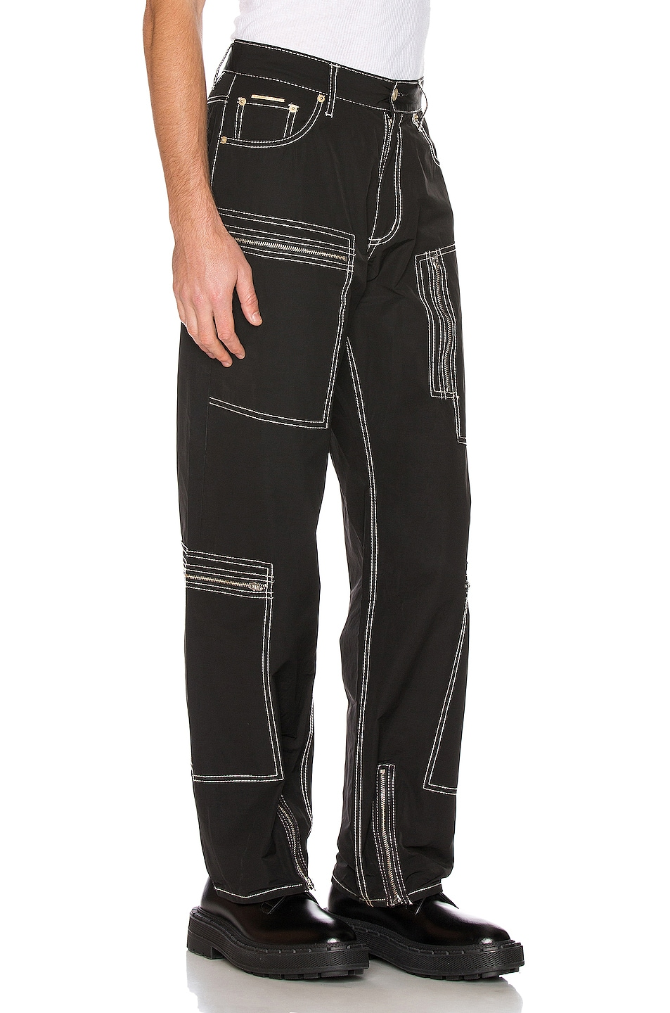 Image 2 of Eytys Benz MK Tech Pant in Black