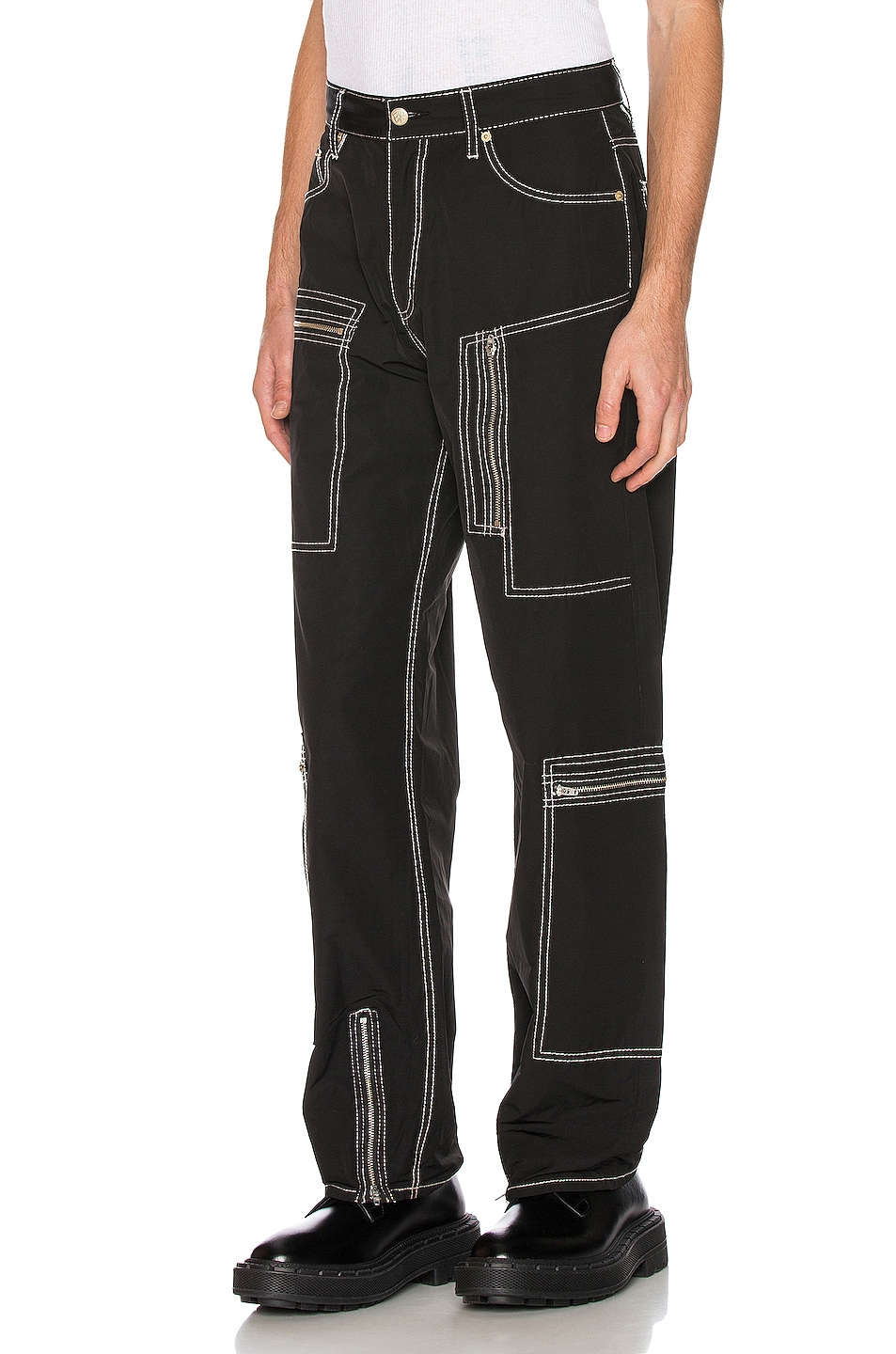 Image 3 of Eytys Benz MK Tech Pant in Black