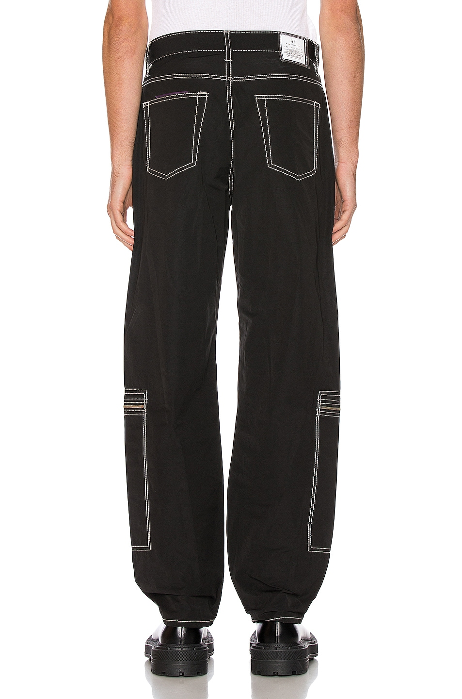 Image 4 of Eytys Benz MK Tech Pant in Black