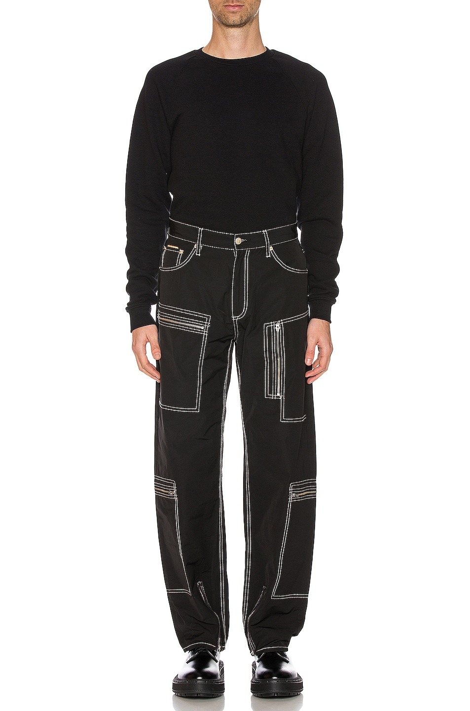 Image 5 of Eytys Benz MK Tech Pant in Black