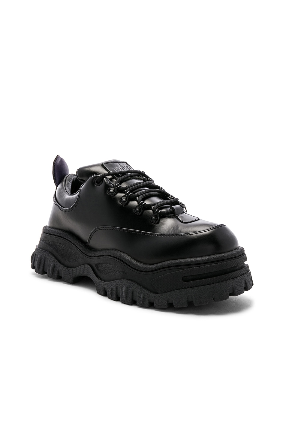 Image 1 of Eytys Angel Leather Sneaker in Black