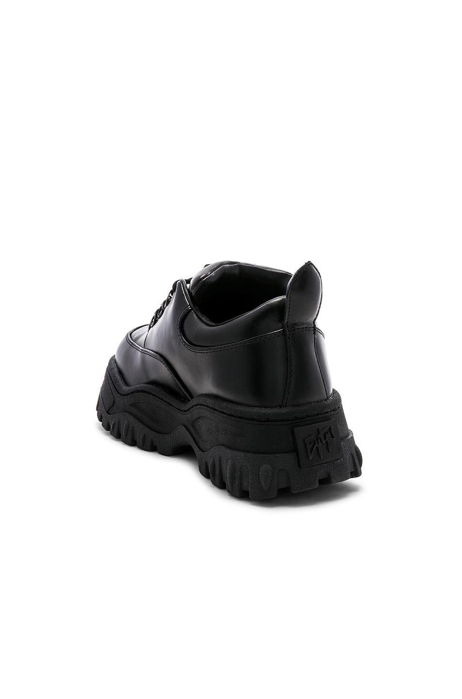 Image 3 of Eytys Angel Leather Sneaker in Black