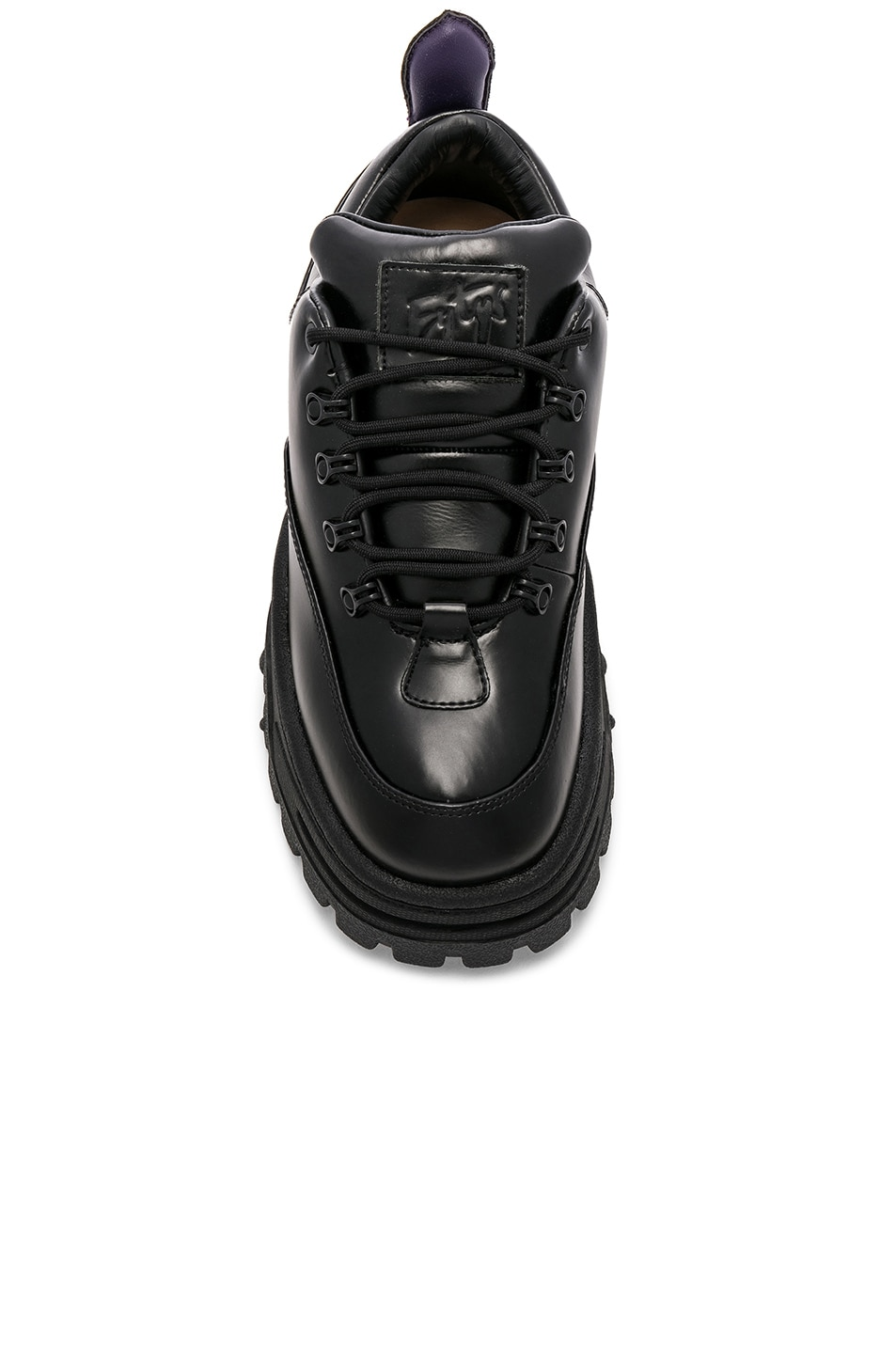 Image 4 of Eytys Angel Leather Sneaker in Black