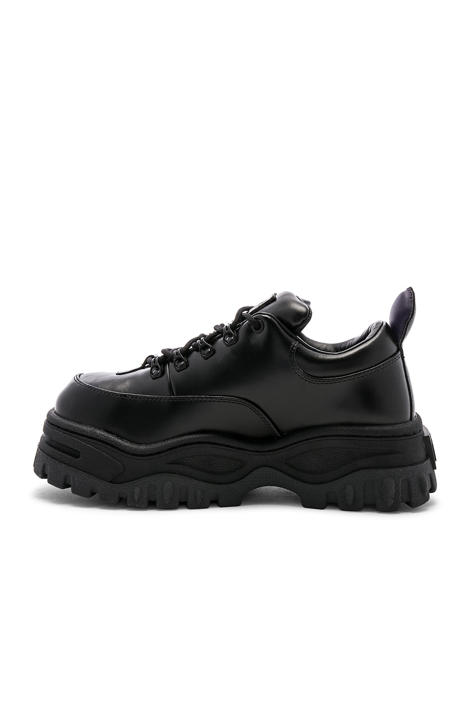 Image 5 of Eytys Angel Leather Sneaker in Black