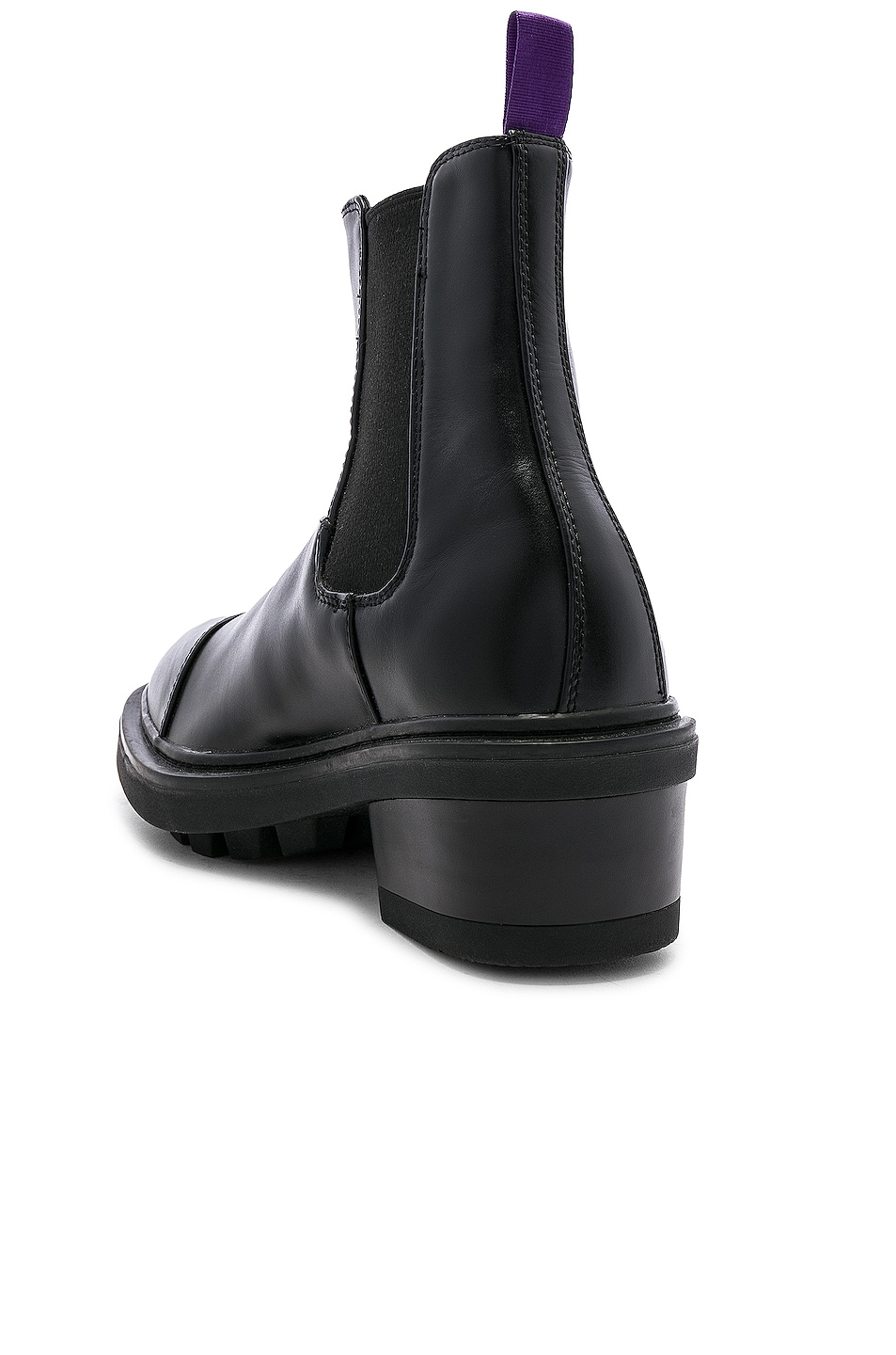 Image 3 of Eytys Nikita Leather Boot in Black