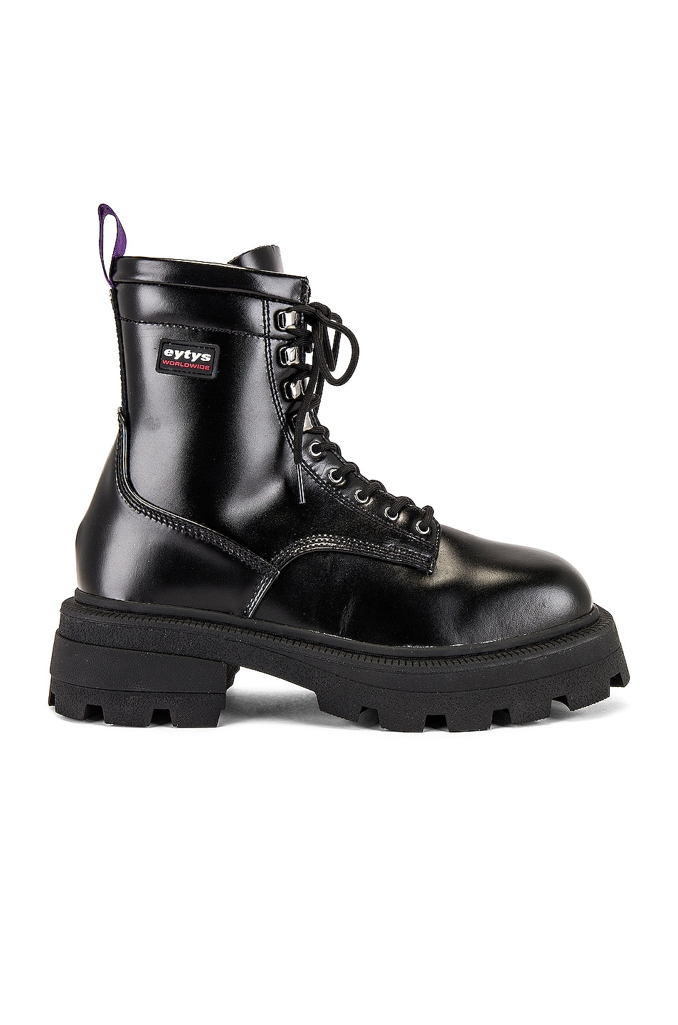 Image 1 of Eytys Michigan Leather Boot in Black
