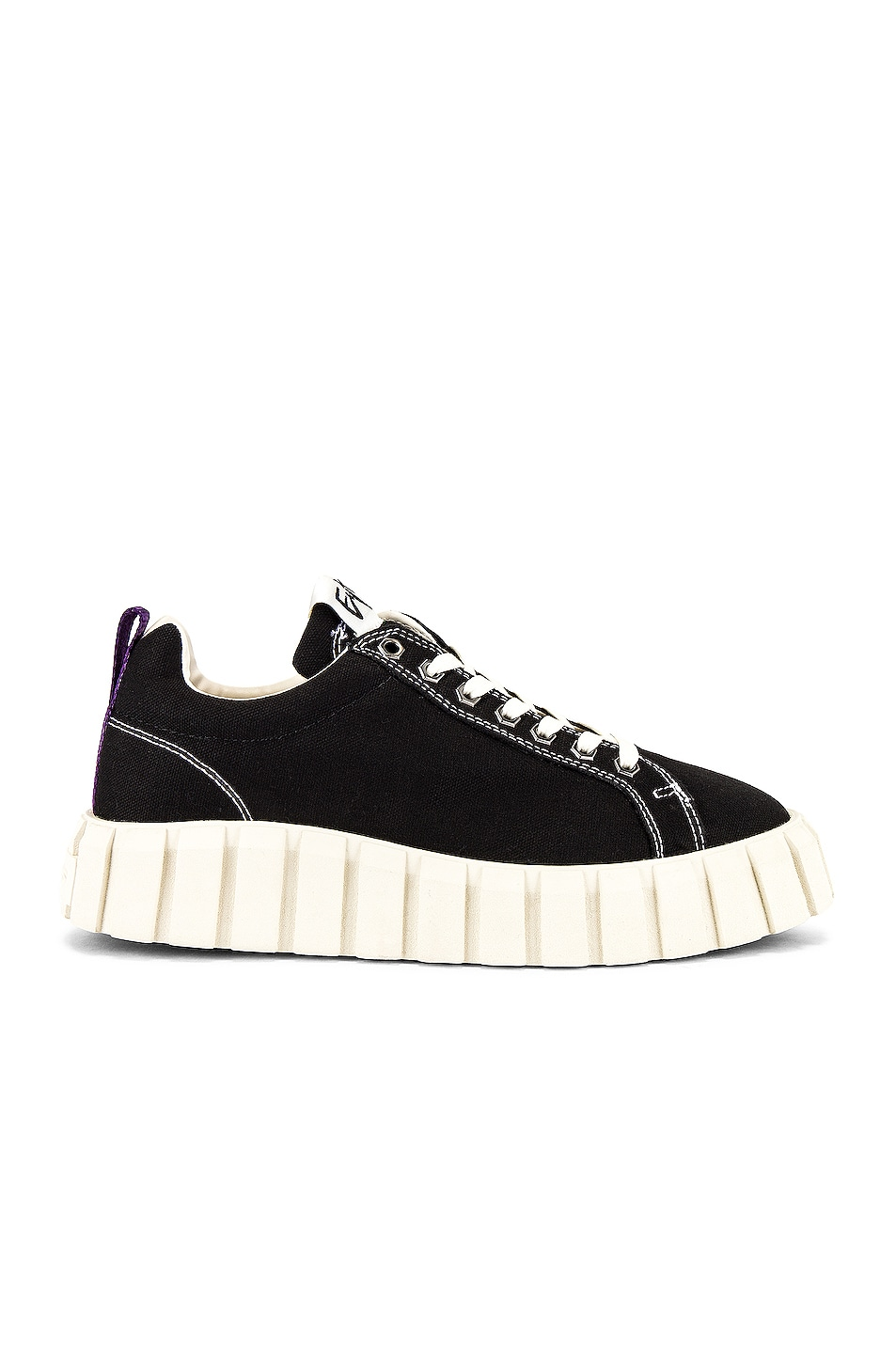 Image 1 of Eytys Odessa Canvas Sneaker in Black