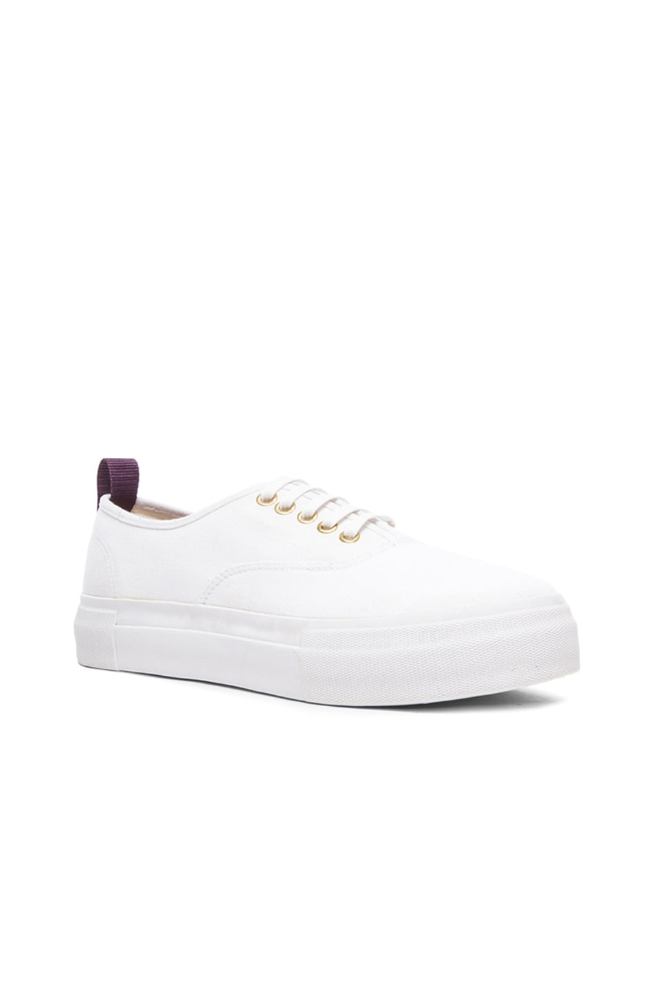 EYTYS Mother Low-Top Canvas Trainers in White