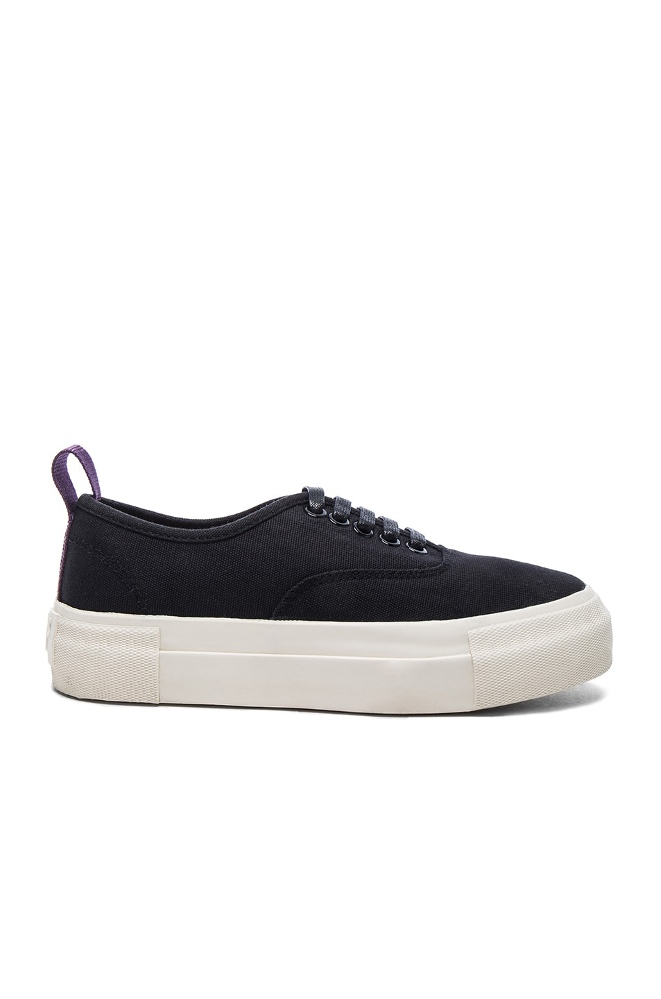 Image 1 of Eytys Canvas Mother Sneakers in Black