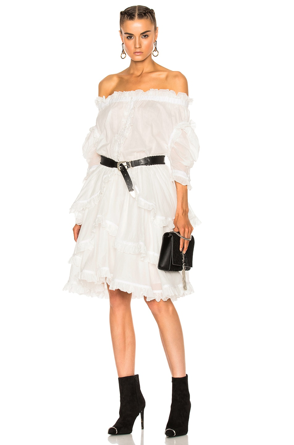 Image 1 of Faith Connexion Sail Dress in White