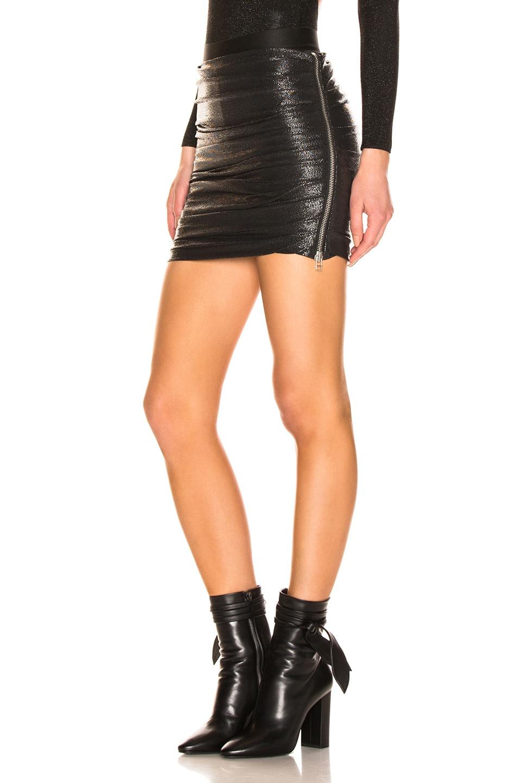 Image 3 of Faith Connexion Drape Tube Skirt in Black