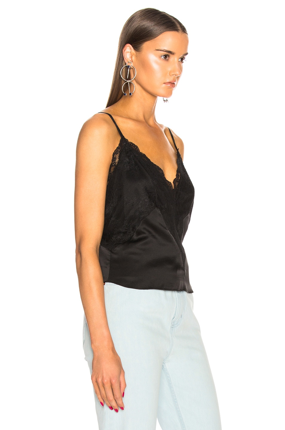 Image 3 of Faith Connexion Lace Top in Black