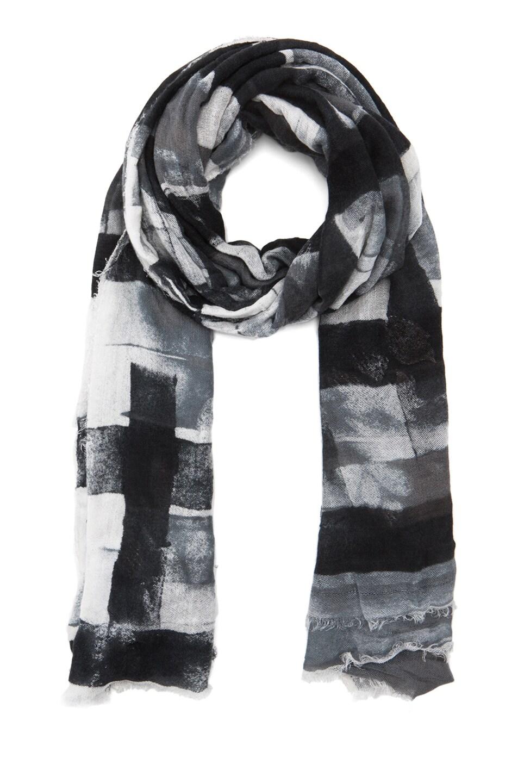 Image 1 of Faliero Sarti Blove Scarf in Black & White