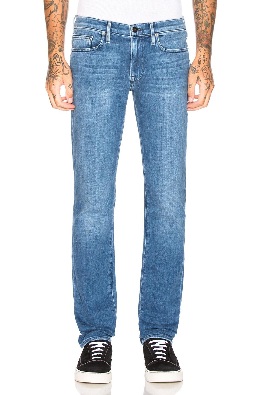 Image 1 of FRAME L'Homme Slim Fit Jeans in Bradbury
