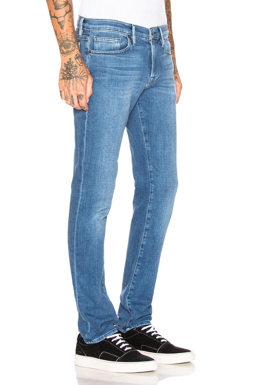 Image 2 of FRAME L'Homme Slim Fit Jeans in Bradbury