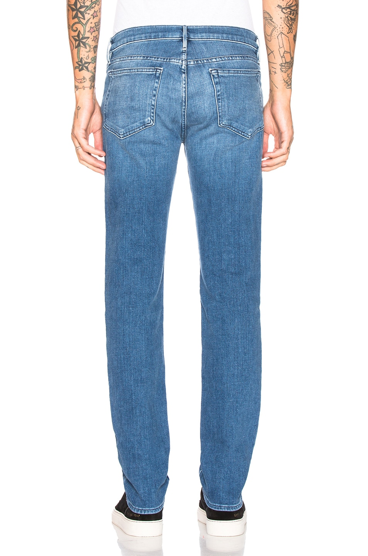 Image 3 of FRAME L'Homme Slim Fit Jeans in Bradbury