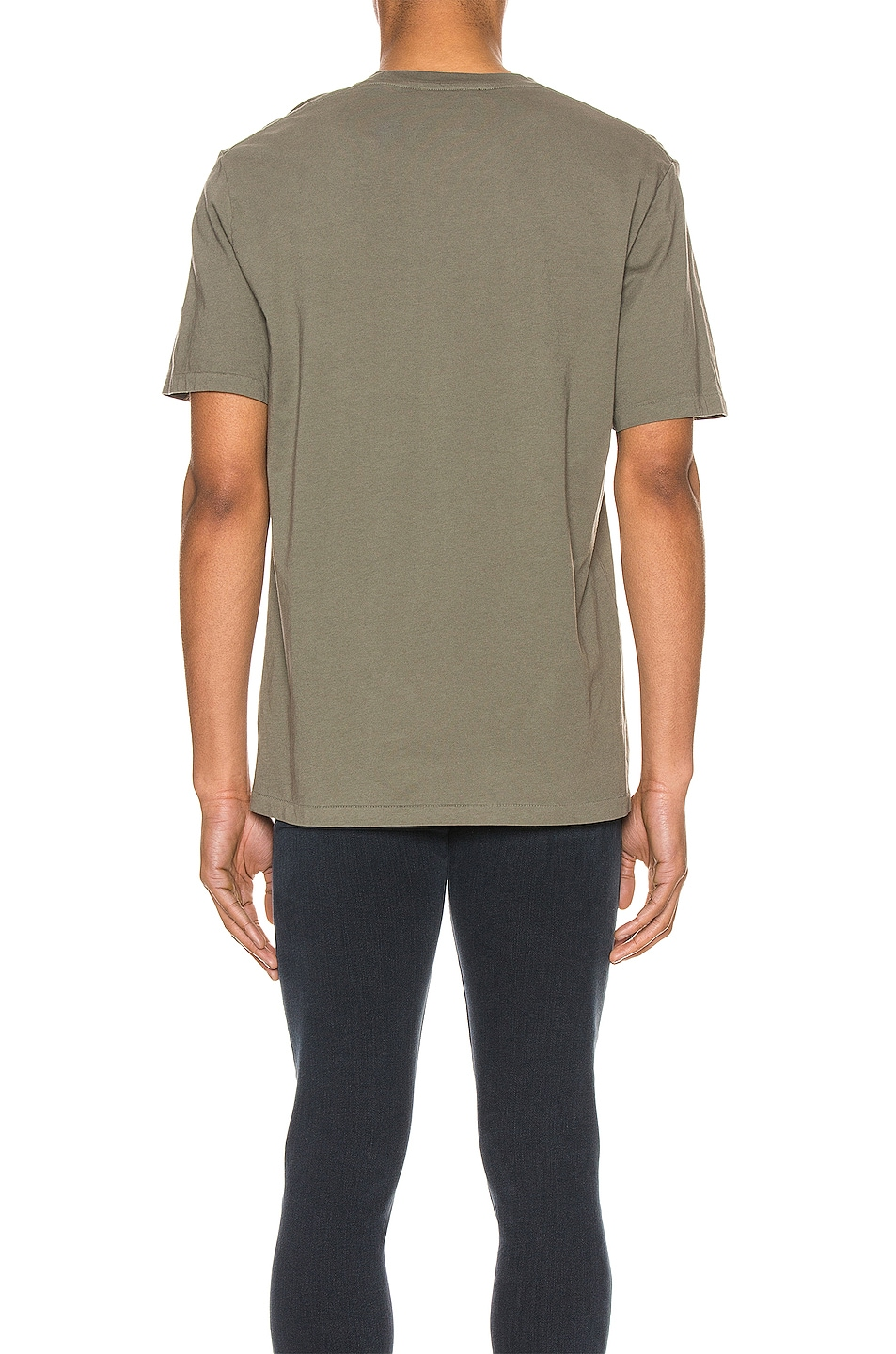 Image 3 of FRAME Perfect Tee in Deep Army