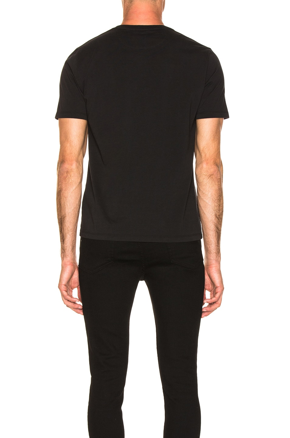 Image 3 of FRAME Heavyweight Classic Fit Tee in Black