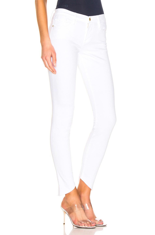 Frame Jeans Le Skinny De Jeanne Back Triangle