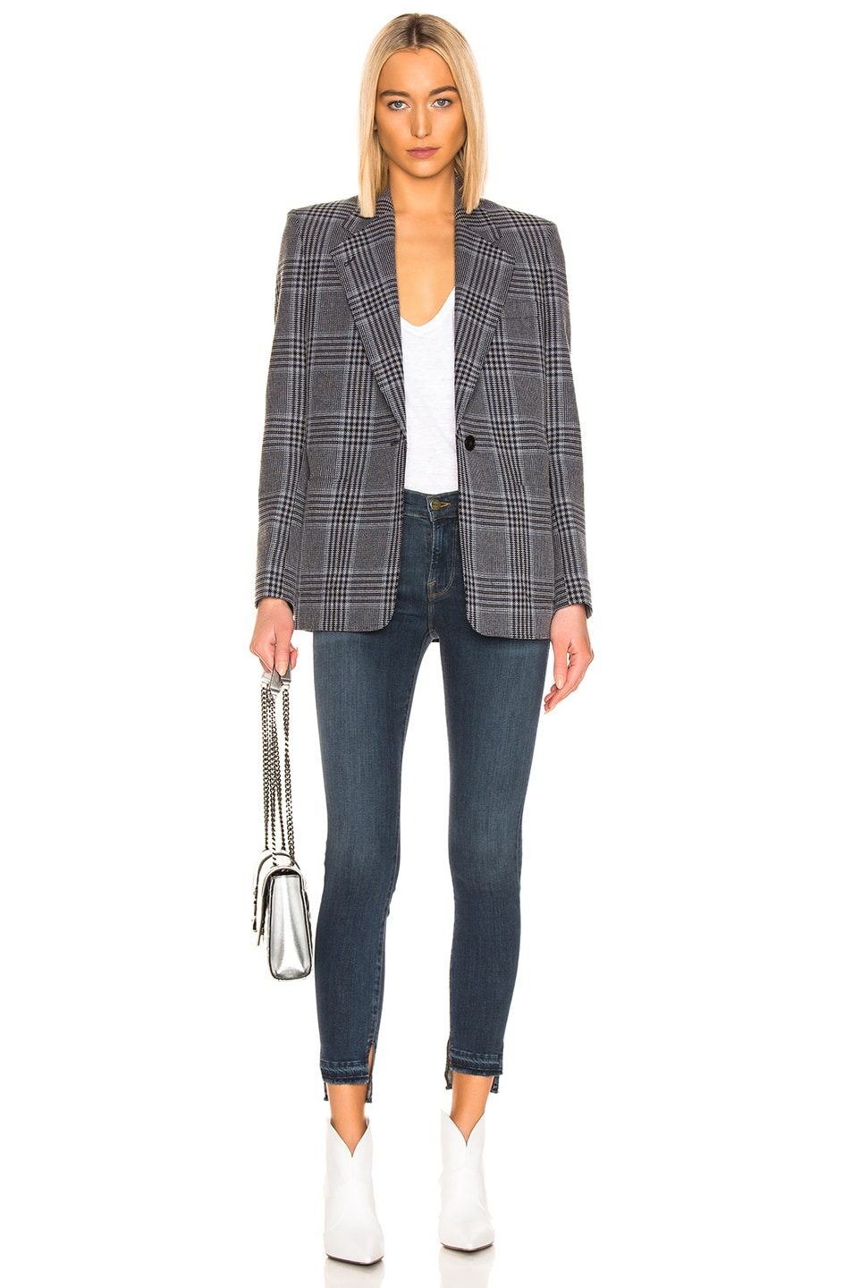 Image 4 of FRAME Le Skinny De Jeanne Release Stagger in Chez
