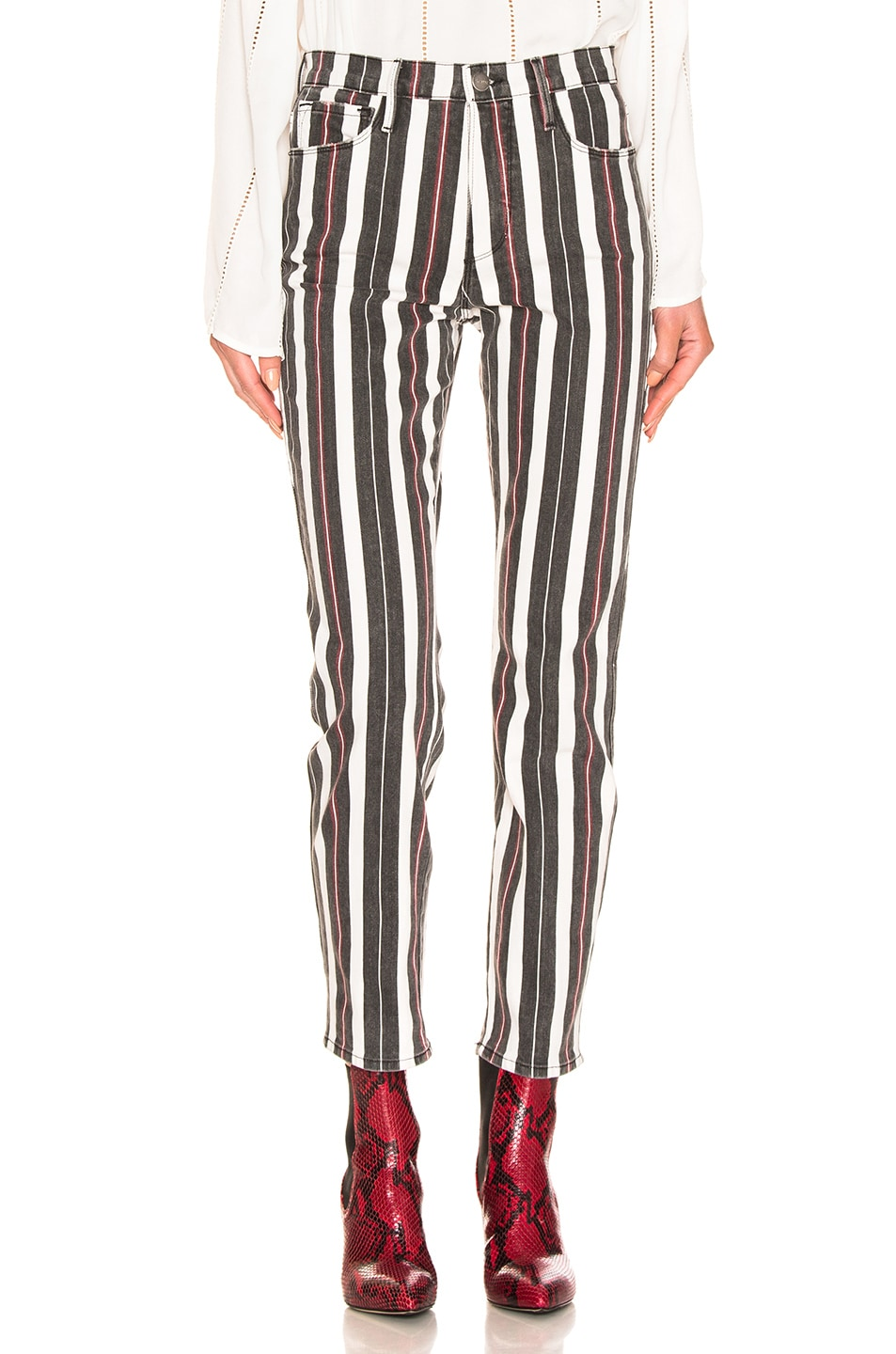 Image 1 of FRAME Le Sylvie in Band Stripe