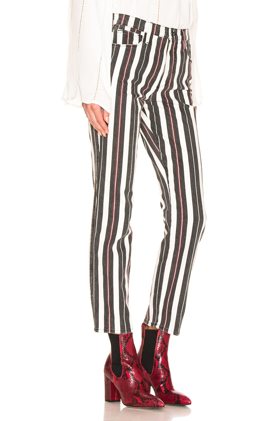 Image 2 of FRAME Le Sylvie in Band Stripe