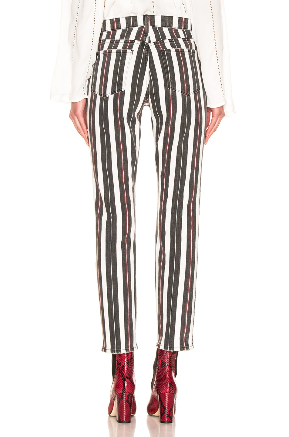 Image 3 of FRAME Le Sylvie in Band Stripe