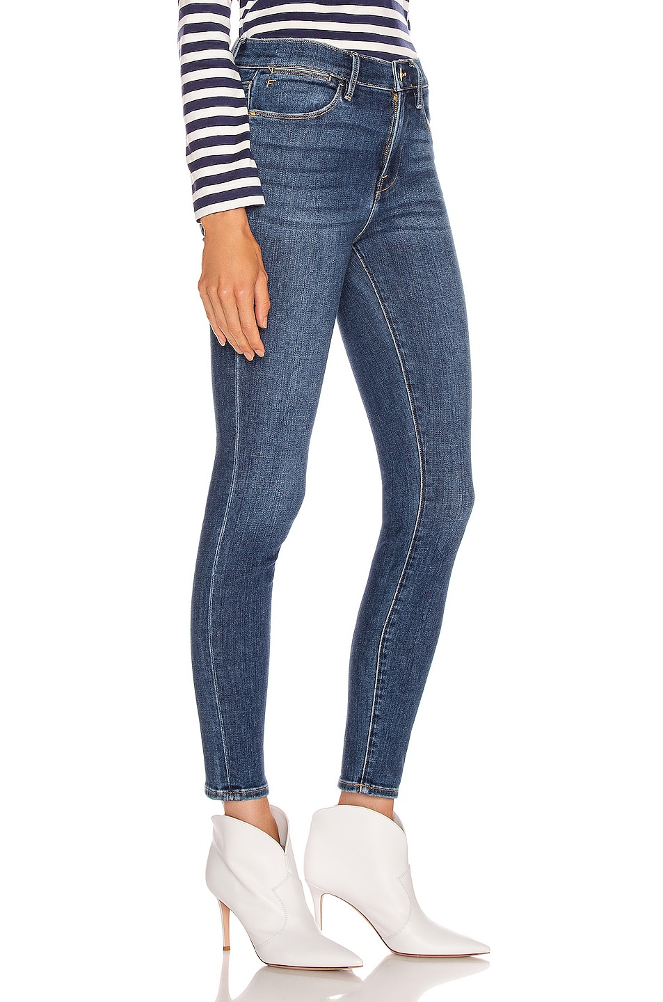 Image 2 of FRAME Le High Skinny in Cortland