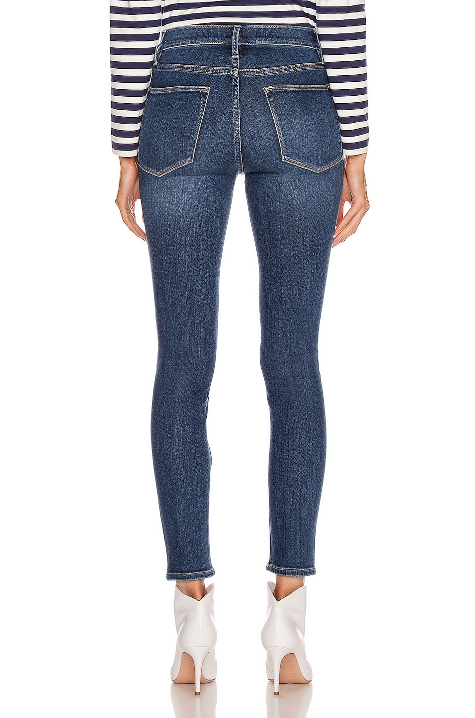 Image 3 of FRAME Le High Skinny in Cortland
