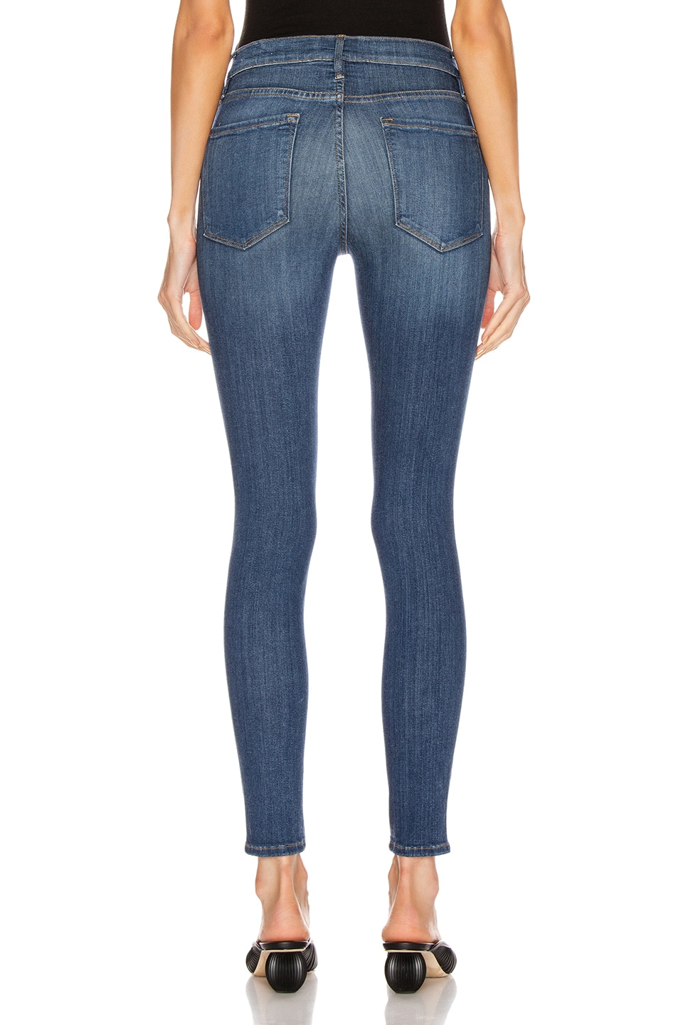 Image 3 of FRAME Le High Skinny in Cobain