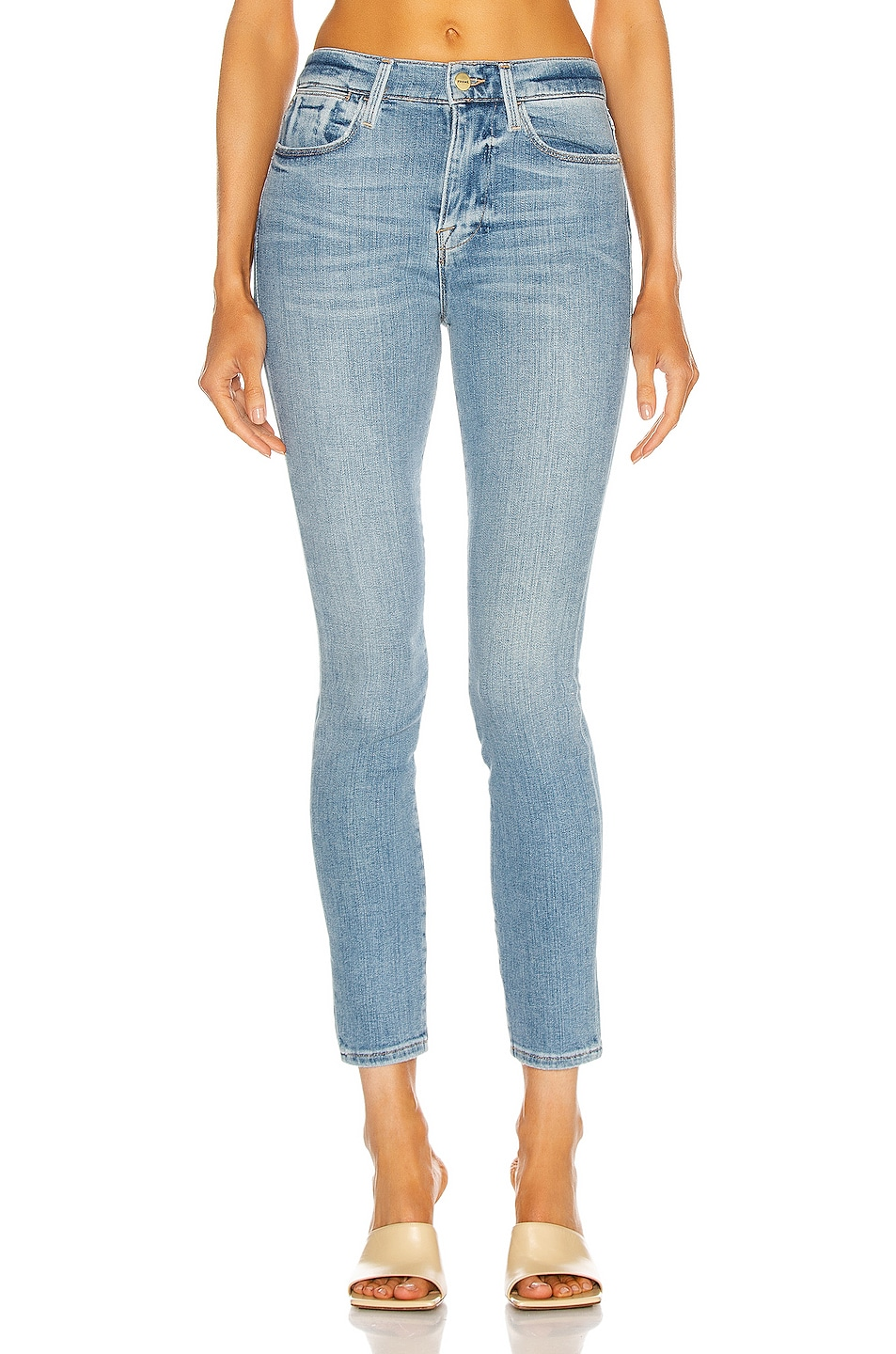 Image 1 of FRAME Le High Skinny in Melville