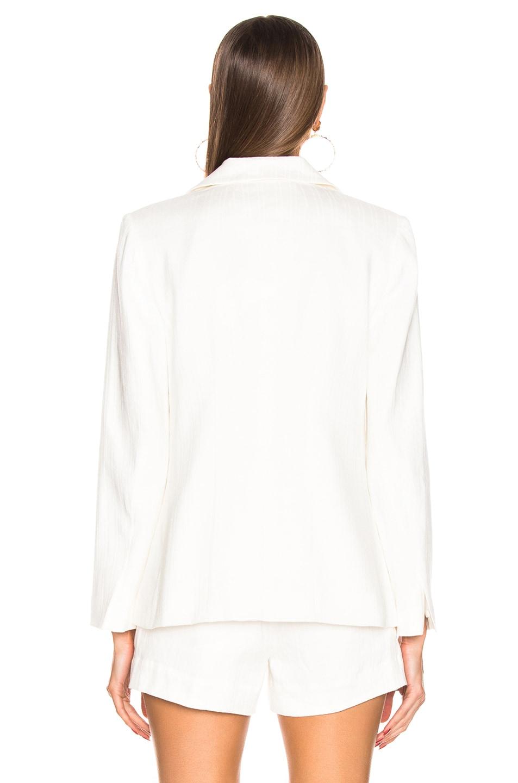 Image 4 of FRAME Classic Fine Blazer in Off White