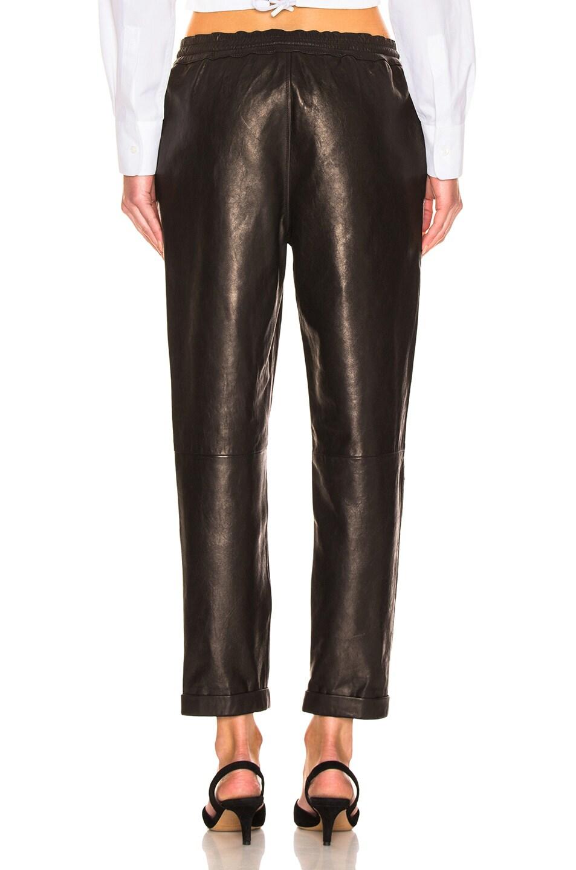 Image 3 of FRAME Pull On Trouser in Noir