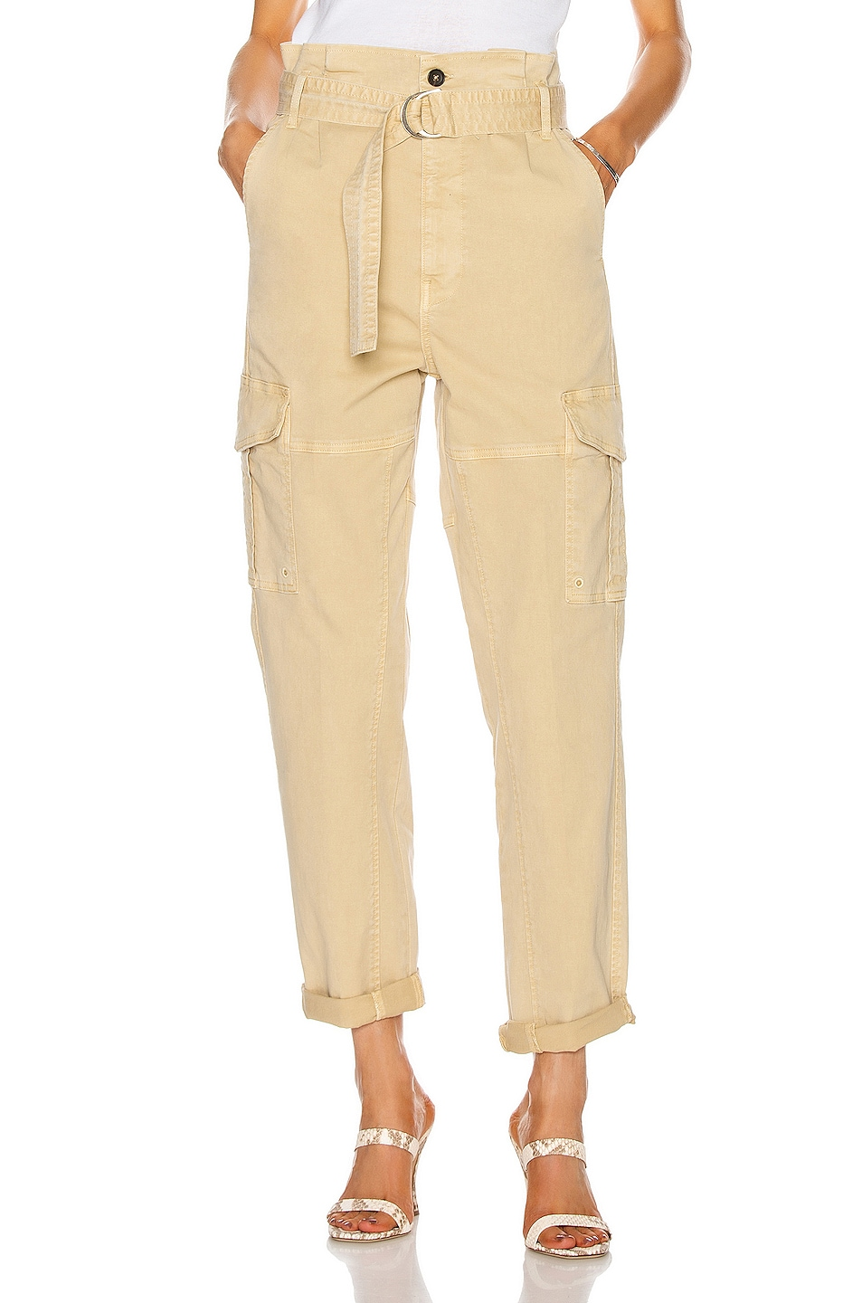 Image 1 of FRAME Safari Belted Pant in Cargo