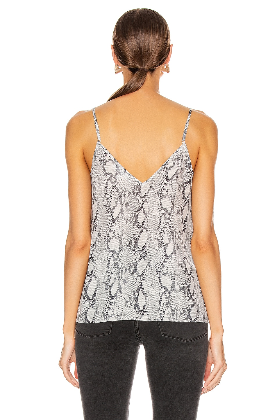 Image 3 of FRAME Classic Cami in Gris Multi